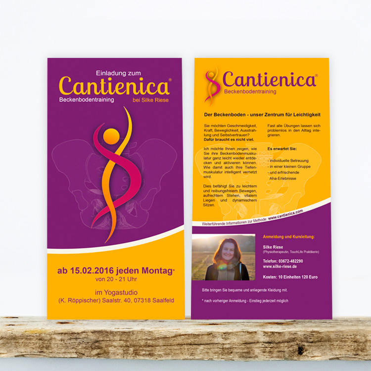 flyer cantienica silke riese